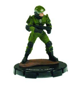 Halo 3 Wizkids CMG Miniature Game ActionClix Single Figure 088 Common Marine M7/Caseless SMG