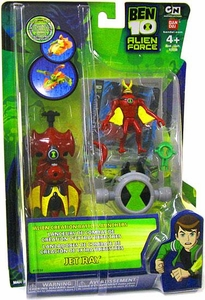 Ben 10 Alien Creation Battle Launcher Figure Jet Ray