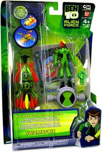 Ben 10 Alien Creation Battle Launcher Figure Swampfire