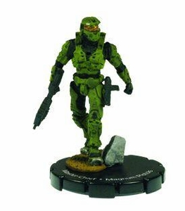 Halo 3 Wizkids CMG Miniature Game ActionClix Single Figure 090 Rare Master Chief MA5C Assault Rifle