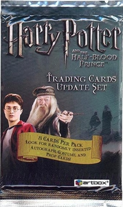 Harry Potter & The Half Blood Prince Movie Hobby Trading Card Pack [8 Cards]