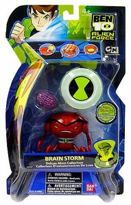 Ben 10 Deluxe DX Alien Collection Action Figure Brainstorm