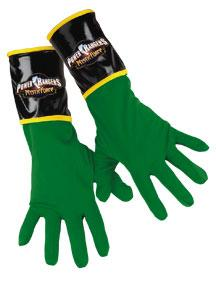 Power Rangers Mystic Force #14630 Green Ranger Gloves