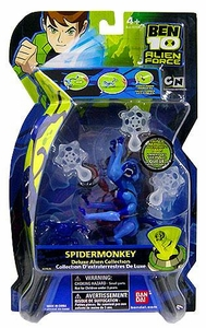 Ben 10 Deluxe DX Alien Collection Action Figure Spidermonkey