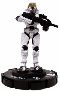 Halo Heroclix 2011 Edition Single Figure Common #10 Spartan [Battle Rifle]
