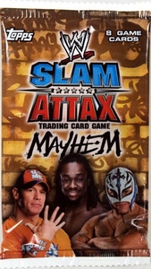 Topps WWE Slam Attax Wrestling Trading Card Game Mayhem Series 2 Booster Pack