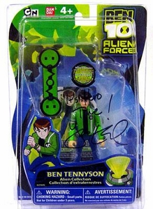 Ben 10 Alien Force 4 Inch Action Figure Ben Tennyson with Hover Board [Autographed by Yuri Lowenthal]