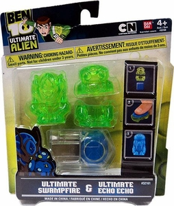 Ben 10 Ultimate Alien Ultimate Swampfire & Ultimate Echo Echo Molds