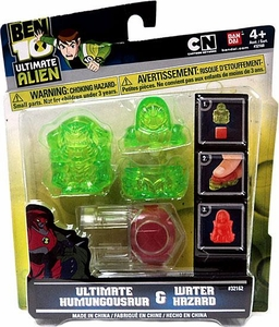 Ben 10 Ultimate Alien Ultimate Humungousaur & Water Hazard Molds