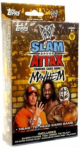 Topps WWE Slam Attax Wrestling Trading Card Game Mayhem Series 2 Starter Deck Set