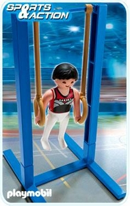Playmobil Athletes Set #5189 Gymnast on Rings