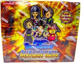 Blue Dragon RPCG Role Playing Card Game Destinies Unite Booster BOX