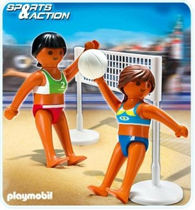 Playmobil Athletes Set #5188 Beach Volleyball with Net