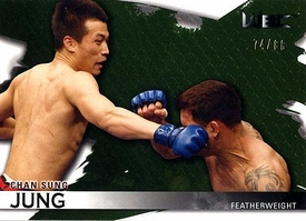 UFC Topps Ultimate Fighting Championship 2010 Knockout Single Card #116 Chan Sung Jung 74/88