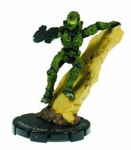 Halo Heroclix 2011 Edition Single Figure Uncommon #20 Master Chief [Battle Rifle]