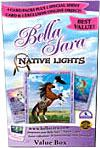 Bella Sara Series 5 Native Lights Value Box [4 Packs & 1 Shiny Card]