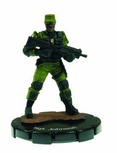 Halo Heroclix 2011 Edition Single Figure Rare #27 Sgt. Johnson