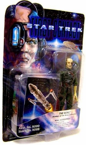 Star Trek: Deep Space Nine Playmates Action Figure First Contact Borg Damaged Package, Mint Contents!