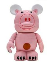 Disney Vinylmation Toy Story 3 Inch Vinyl Figure Hamm [No Hat]