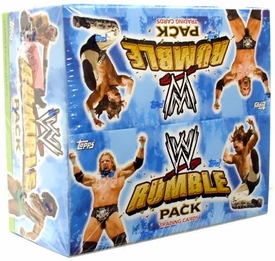 WWE Wrestling Rumble Pack Trading Cards Box