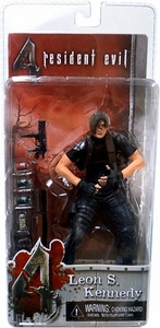 NECA Resident Evil 4 Series 1 Action Figure Leon S. Kennedy without Jacket