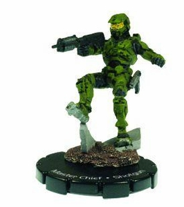 Halo Heroclix 2011 Edition Single Figure Super Rare #34 Master Chief [Shotgun]