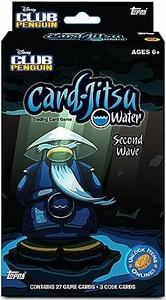 Topps Club Penguin Card-Jitsu Trading Card Game Water Series 5 {Second Wave} Deck