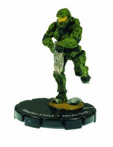 Halo Heroclix 2011 Edition Single Figure Super Rare #35 Master Chief [Brute Shot]
