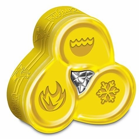 Topps Club Penguin Card-Jitsu Trading Card Game Water Series 4 GOLD Tin Set