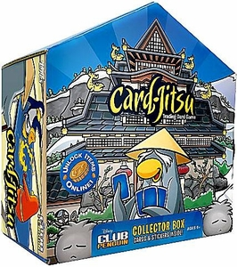 Topps Club Penguin Card-Jitsu Trading Card Game 2009 Dojo Collector Box