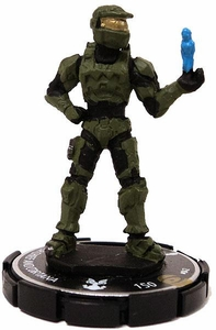 Halo Heroclix 2011 Edition Single Figure Super Rare #42 Master Chief And Cortana