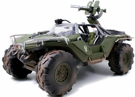 Halo 4 Jada Toys 14 Inch Die Cast Set #96623 Warthog {Primer Green with Dirt} [Combat Edition]