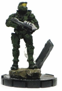 Halo 3 Wizkids CMG Miniature Game ActionClix Single Figure 500 Promo Master Chief with Assault Rifle