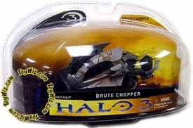 Halo 3 McFarlane Toys Series 1 Die Cast 3 Inch Vehicle Brute Chopper COLLECTOR'S CHOICE!