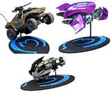 Halo 3 McFarlane Toys Series 1 Set of 3 Die Cast 3 Inch Vehicles [Covenant Ghost, Warthog & Brute Chopper]