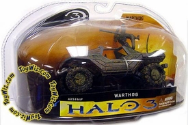 Halo 3 McFarlane Toys Series 1 Die Cast 3 Inch Vehicle Warthog COLLECTOR'S CHOICE!