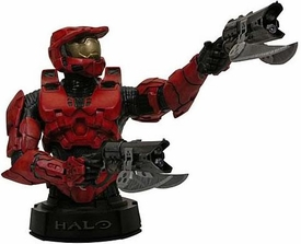 Halo 3 Gentle Giant Mini Bust RED Spartan