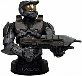 Halo 3 Gentle Giant 2009 SDCC San Diego Comic-Con Exclusive Mini Bust STEEL Spartan