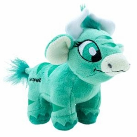 Neopets Collector Species Series 5 Plush with Keyquest Code Green Kau
