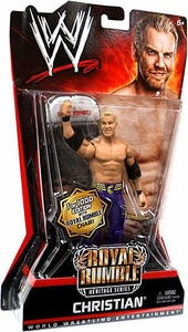 Mattel WWE Wrestling Royal Rumble Heritage PPV Series 6 Action Figure Christian [Commemorative Chair]