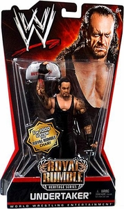 Mattel WWE Wrestling Royal Rumble Heritage PPV Series 6 Action Figure Undertaker [Commemorative Chair] BLOWOUT SALE!