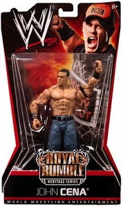 Mattel WWE Wrestling Royal Rumble Heritage PPV Series 6 Action Figure John Cena