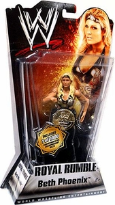 Mattel WWE Wrestling Royal Rumble Series 1 Action Figure Beth Phoenix [Commemorative Championship Belt]