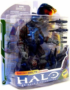 Halo 3 McFarlane Toys Series 5 [2009 Wave 2] Action Figure Jump Pack Brute