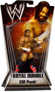Mattel WWE Wrestling Royal Rumble Series 1 Action Figure CM Punk Best in the World!
