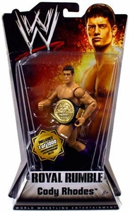 Mattel WWE Wrestling Royal Rumble Series 1 Action Figure Cody Rhodes [Commemorative Championship Belt] BLOWOUT SALE!