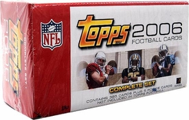 2006 Topps NFL Football Cards Factory Sealed Set