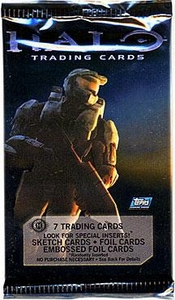 Halo 3 Topps Trading Cards Pack [7 Cards]