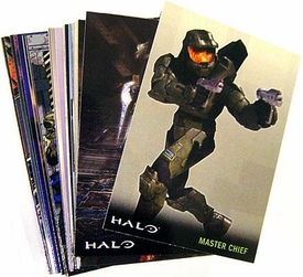 Halo 3 Topps Trading Cards Set of 90 Basic Cards