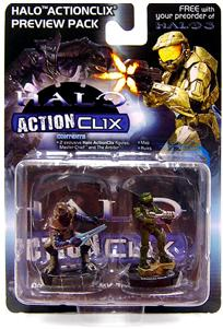 Halo ActionClix Trading Miniature Figure Game Exclusive Promo 2-Pack